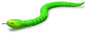 Змея с пультом управления ZF Rattle snake (зеленая)