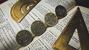 Реквизит для фокусов   Coin Skull by TCC, фото 3