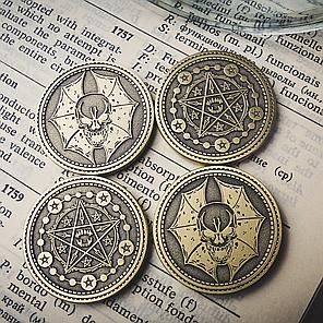Реквізит для фокусів | Coin Skull by TCC, фото 2