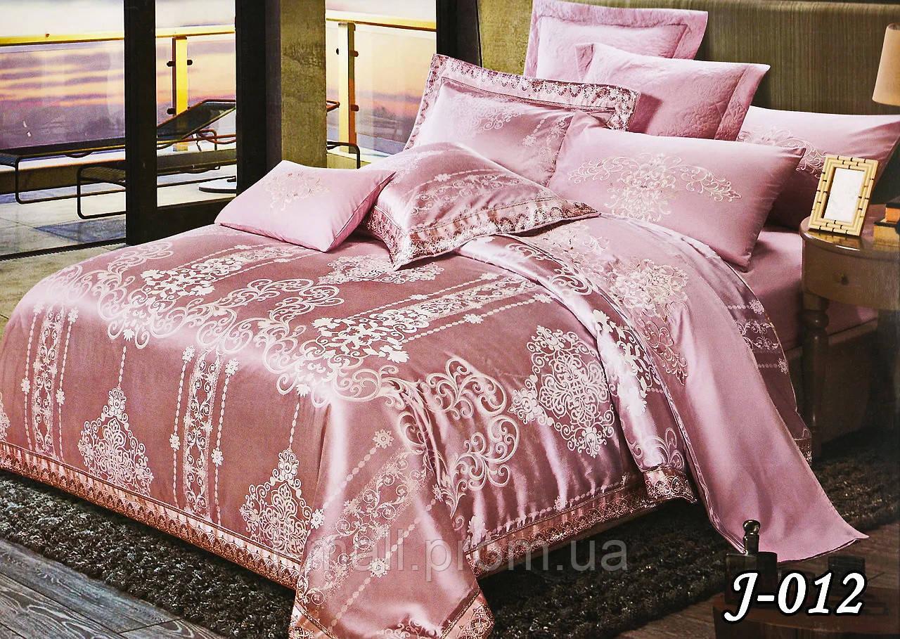 Комплект постельного белья из жаккарда  ТМ Тет-А-Тет (Украина)  Евро  (J-012)