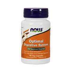 Пищеварительные ферменты Now Foods Optimal Digestive System (90 капс) нау фудс