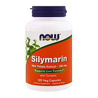 Витамины NOW Silymarin 150 mg (120 капс) нов сильмарин