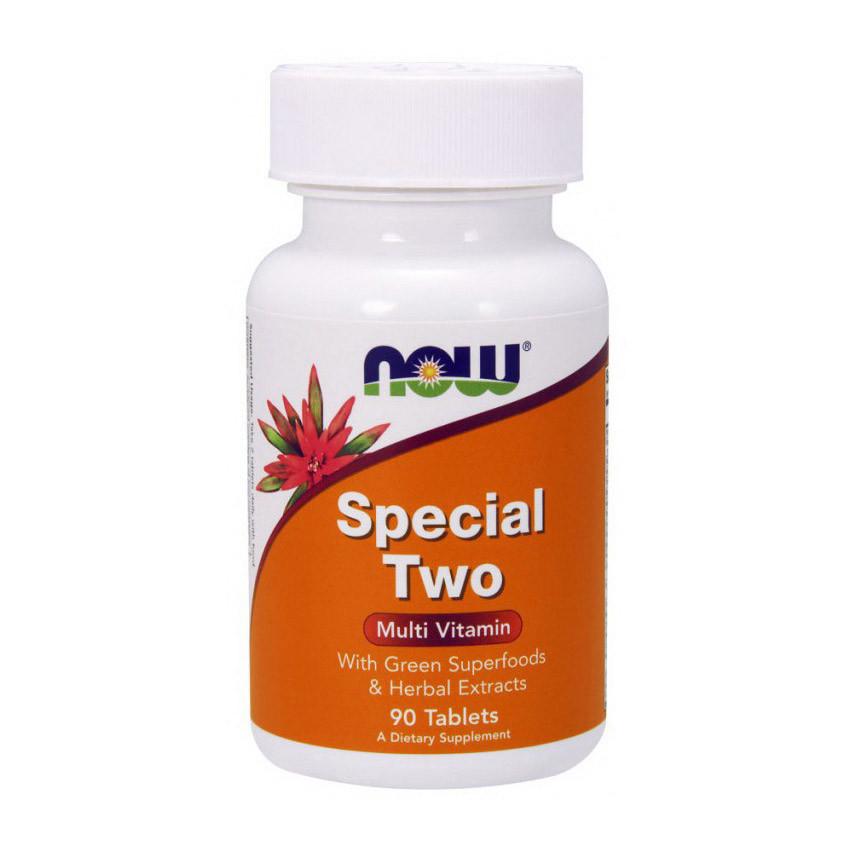 Комплекс витаминов Now Foods Special Two (90 таб) нау фудс спешл ту