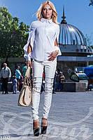 Оригинальная блуза-рубашка Gepur 11842