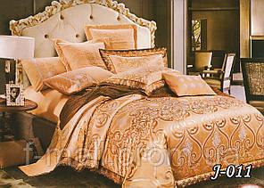Комплект постельного белья из жаккарда  ТМ Тет-А-Тет (Украина)  Евро  (J-011)