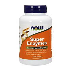 Ферменты энзимы Now Foods Super Enzymes (180 табс) нау фудс