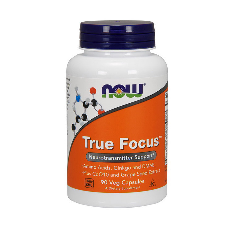 Комплекс витаминов Now Foods True Focus (90 капс) нау фудс тру фокус