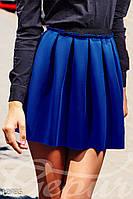 Короткая расклешенная юбка Gepur 12735
