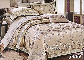 Комплект постельного белья из жаккарда  ТМ Тет-А-Тет (Украина)  Евро  (J-009)