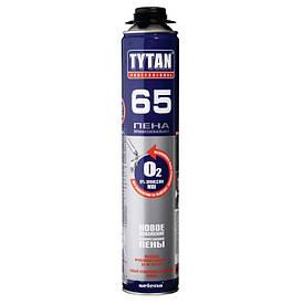Пена монтажная профессиональная всесезонная Tytan О2 65 GUN В3 (750 мл)