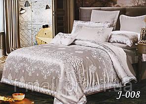 Комплект постельного белья из жаккарда  ТМ Тет-А-Тет (Украина)  Евро  (J-008)