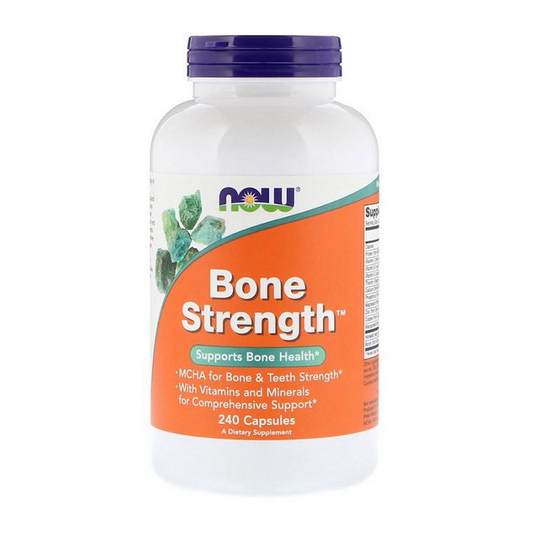 Хондропротектор Now Foods Bone Strenght (240 капс) нау фудс