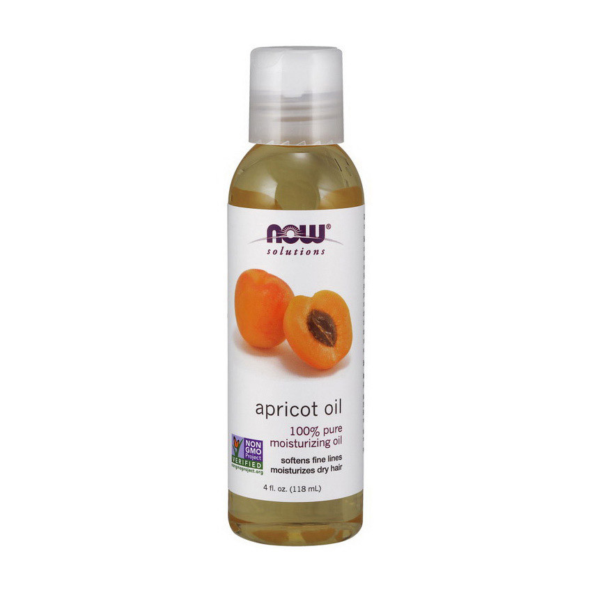 Абрикосовое масло Now Foods Apricot Oil (118 мл) нау фудс