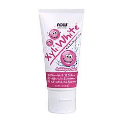 Зубная паста для детей NOW Xyli White kids toothpaste gel (85 г) нов хули вайт кидс