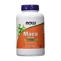 Мака экстракт корня Now Foods Maca 500 mg (250 капс)