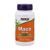 Экстракт мака NOW Maca 500 mg (100 капс) нов мак