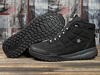 Зимние кроссовки  на меху Supo Sport, черные (30972) размеры в наличии ► [  41 (последняя пара)  ], фото 1
