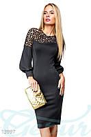 Облегающее платье с декором Gepur 13997, фото 1