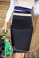 Декорированная юбка-карандаш Gepur 13486