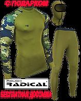 Термобелье Radical Shooter (original), теплое, спортивное хаки, фото 1