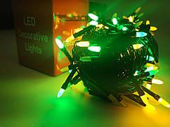 Гирлянда новогодняя Нить (рис матовый) светодиодная LED 200 лампочек