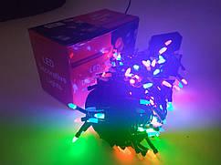 Гирлянда новогодняя Нить (рис матовый) светодиодная LED 100 лампочек