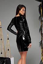 Женское платье из латекса (Карли mm), фото 3