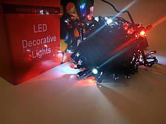 Гирлянда новогодняя Нить (линза) светодиодная LED 200 лампочек