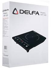 Электроплита индукционная DELFA IHP-1355 1500 Вт, фото 2