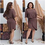 Стильное платье  (размеры 48-54) 0225-37, фото 2