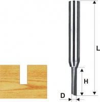 Фреза пазовая прямая ф4х13мм, хв.8мм (арт.10655)