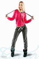 Яркий велюровый костюм Gepur 15053