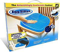 Гелевая ортопедическая подушка для сиденья Egg Sitter, фото 2