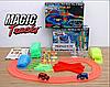 Гоночна траса Magic Tracks 360 деталей, медик трек, з мостом і 2-ма машинками