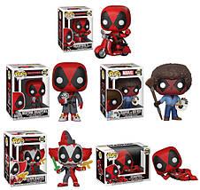 Колекційні фігурки Фанко Поп Funko Pop Дэдпул Deadpool