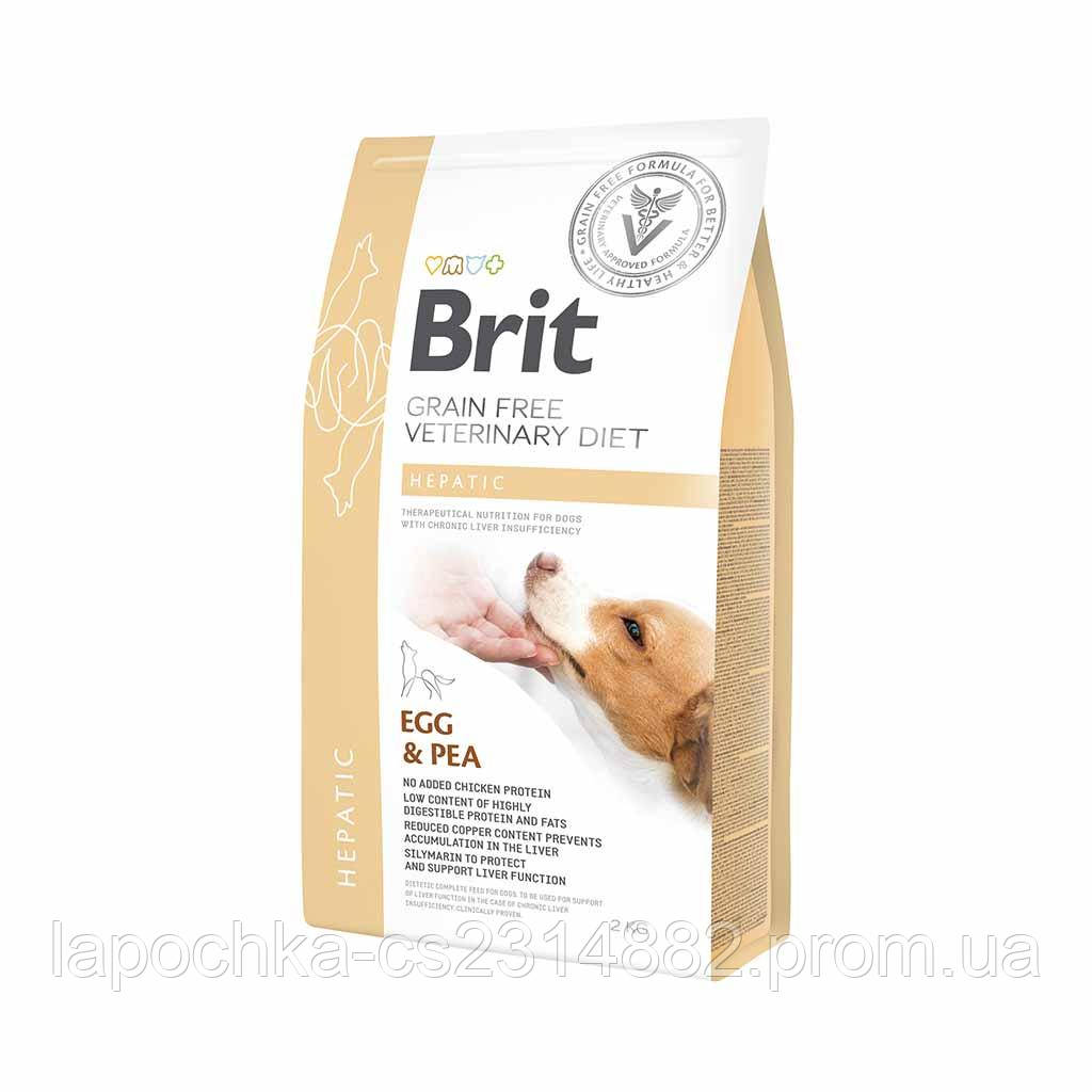 Корм Brit GF Veterinary Diets Dog Hepatic беззерновая диета для собак при печеночной недостаточности