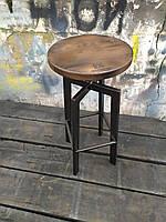 Барный стул GoodsMetall в стиле ЛОФТ 750х300х300 мм Дублин