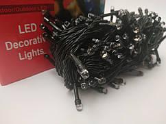 Гирлянда новогодняя Нить (линза) светодиодная LED 100 лампочек