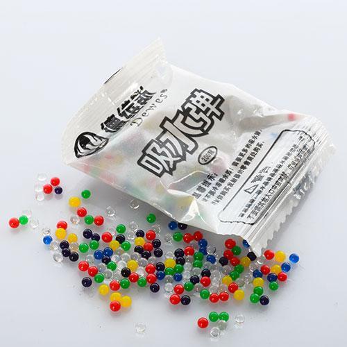 Водяные пульки E12614  200шт в кульке, 5,5-4см, упакованы в 5связок по 100кульков