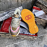 Кросівки Gucci Flashtrek sneaker зима, 35-44 р-р, фото 5