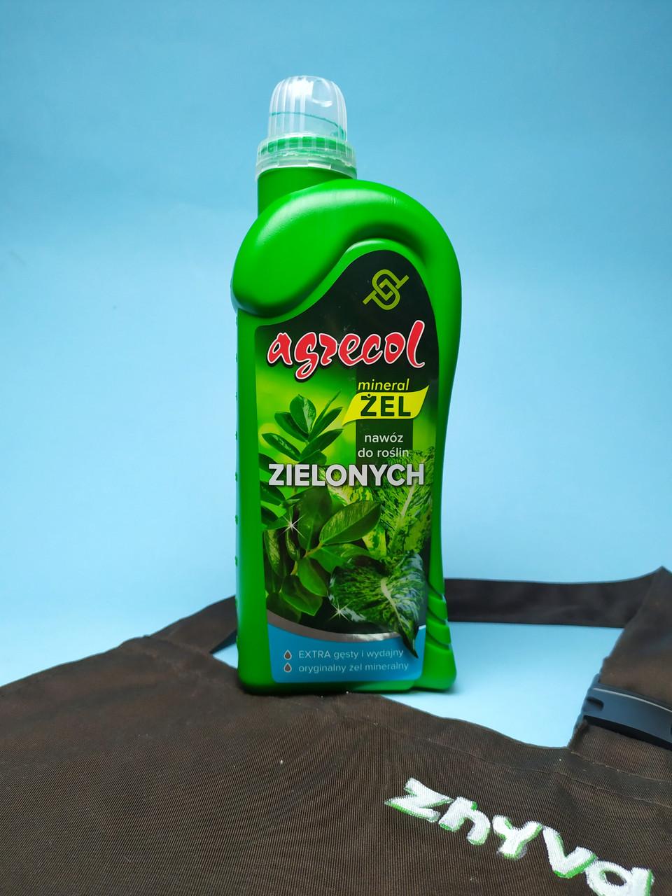 Добриво-гель  для зелених рослин Agrecol 1л