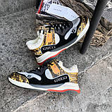 Кроссовки Gucci Flashtrek sneaker зима, 35-44 р-р, фото 7
