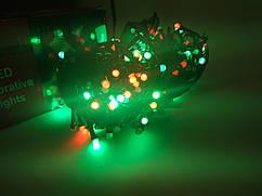 Гирлянда новогодняя Нить (линза матовая) светодиодная LED 200 лампочек
