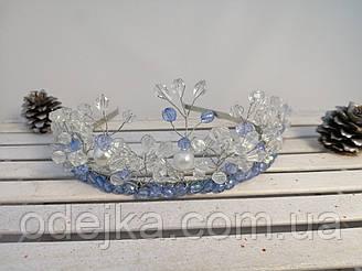Корони з кришталевих намистин