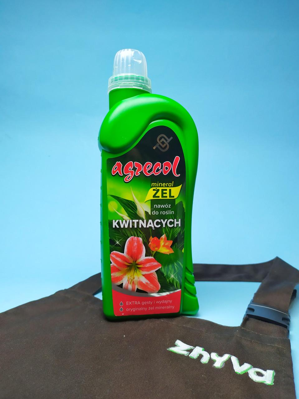 Удобрение-гель для цветущих растений Agrecol 1л