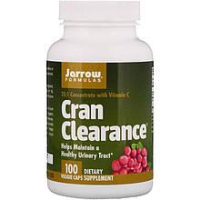 """Клюква с витамином C Jarrow Formulas """"Cran Clearance"""" здоровье мочевыводящих путей (100 капсул)"""