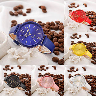 """Женские наручные часы """"Geneva"""" (синий), фото 2"""