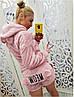 Женская махровая пижама с шортами мяу-мяу Турция