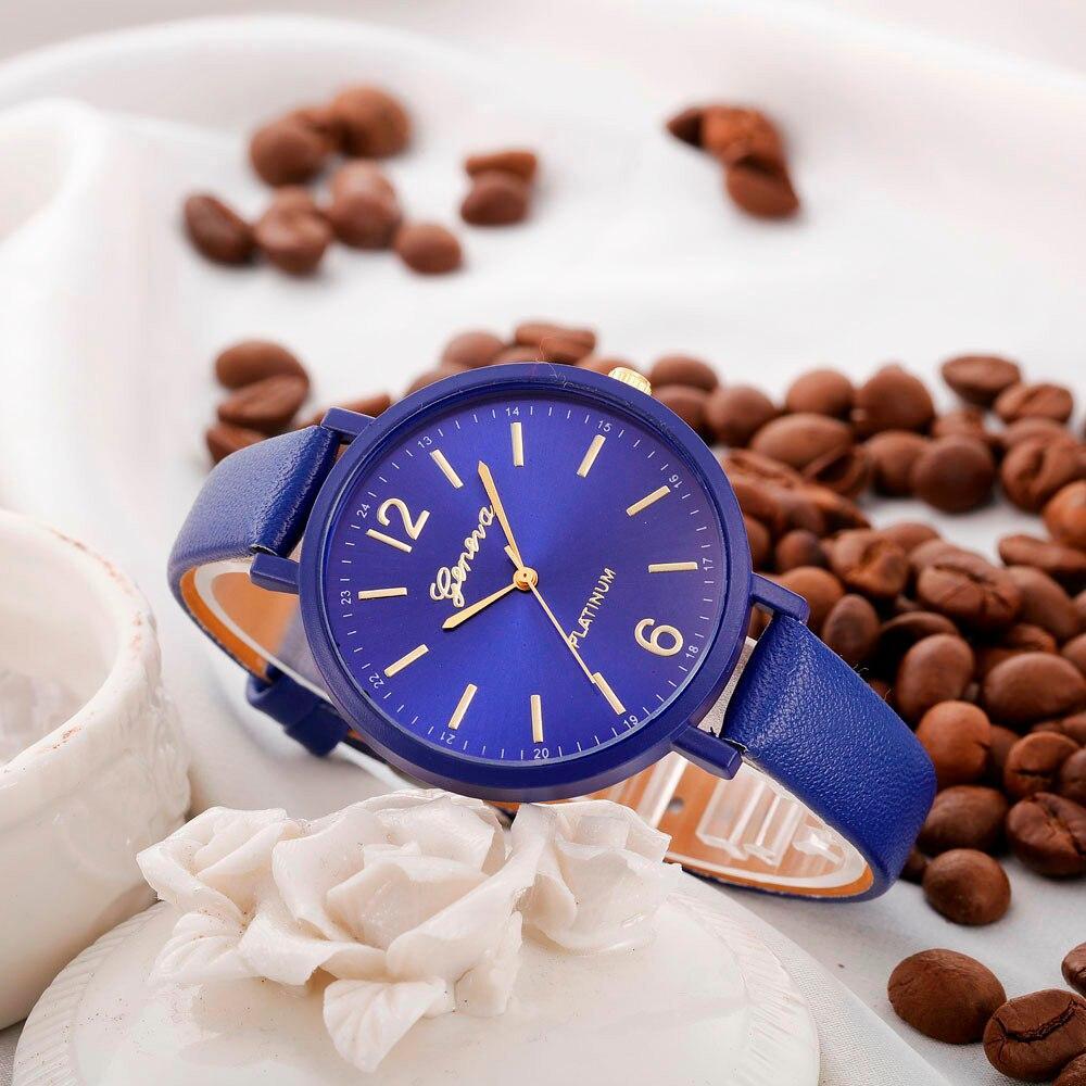 """Женские наручные часы """"Geneva"""" (синий)"""