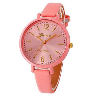 """Жіночі наручні годинники """"Geneva"""" (рожевий), фото 2"""